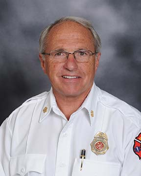 Fire Chief Michael Wolever